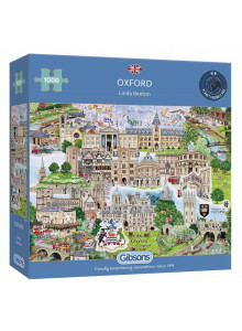 GIBSONS OXFORD 1000 PIECE...