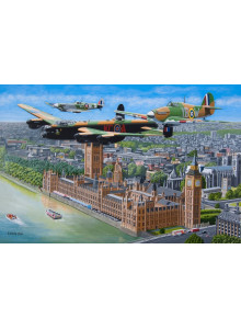 Fly past   House of Puzzles...