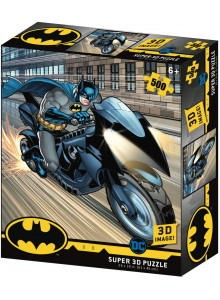 DC Comic Batman - Batcycle...