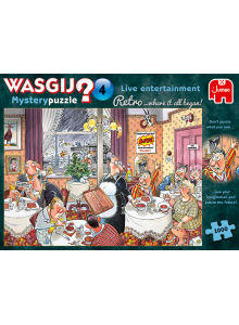 Jumbo Puzzles Wasgij Retro...