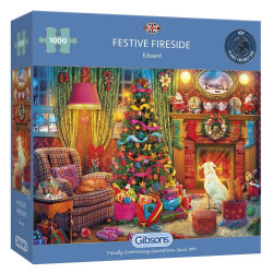 GIBSONS Festive Fireside...